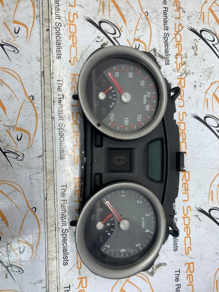 RENAULT MEGANE  2003-2015 1.5 SPEEDO CLOCKS & REV COUNTER 8200292054 [BP]